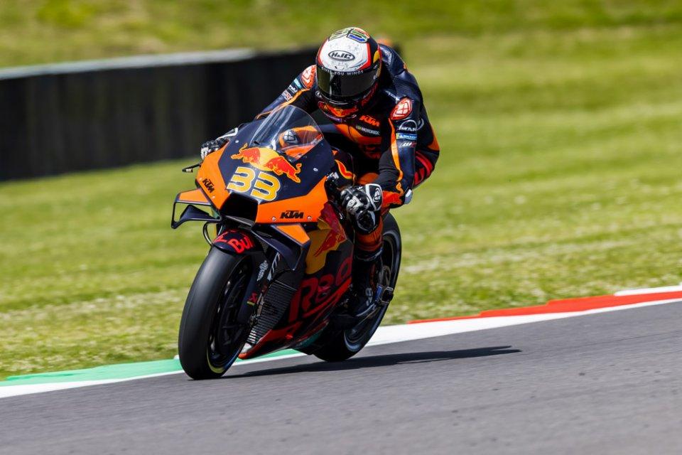 MotoGP: KTM VS Ducati 1-1: Binder pareggia il record di velocità di Zarco