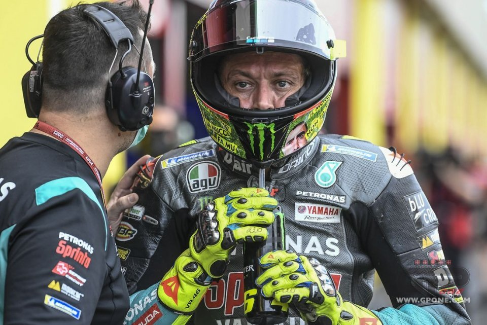 """MotoGP: Rossi: """"The images of Dupasquier's accident? You either run away or forget."""""""