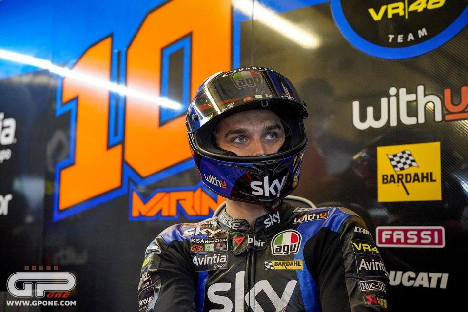 """MotoGP: Marini: """"La gara è stata folle, spero di correre ancora sotto la pioggia"""""""