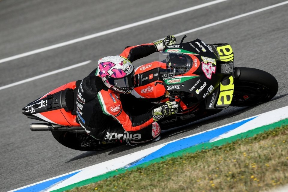 """MotoGP: Aleix Espargarò: """"In Jerez, barriers are close and the MotoGPs are ever faster"""""""