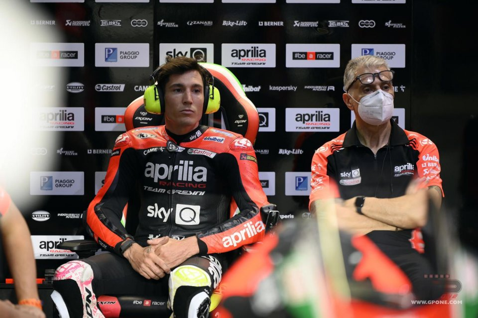 MotoGP: A. Espargarò convinced he doesn't need a fast teammate to find motivation