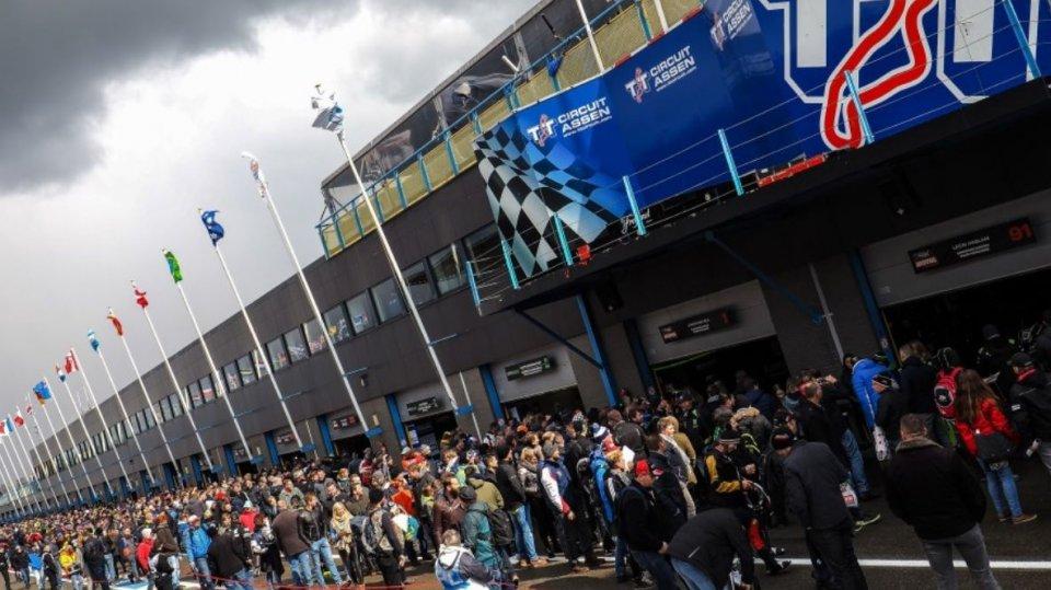 MotoGP: Assen apre a (poco) pubblico, 11.500 al giorno per il GP di Olanda