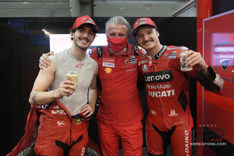 """MotoGP: Ciabatti:""""Miller e Bagnaia ci danno l'entusiasmo di cui avevamo bisogno"""""""