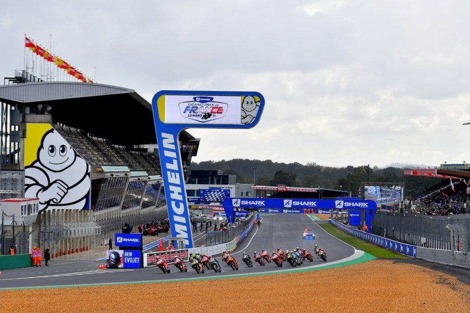 MotoGP: Pioggia e freddo: Michelin si prepara alla sfida di Le Mans