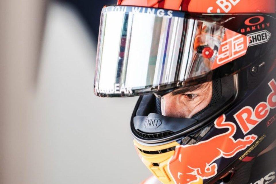"""MotoGP: Marquez: """"Una caduta così fa paura, dopo ero confuso, non sapevo dove mi trovavo"""""""