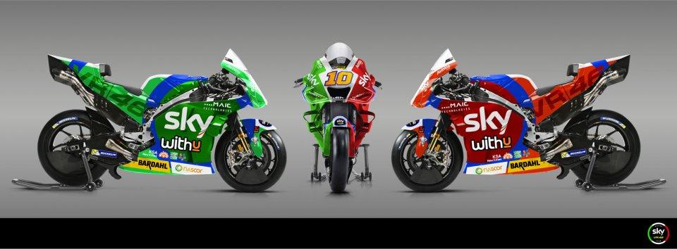 MotoGP: PHOTO - A tricoloured Ducati for Luca Marini at Mugello