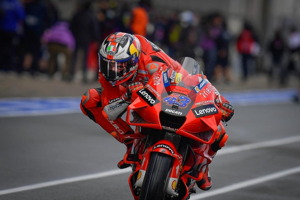 "MotoGP: Miller: ""dovrò mantenermi freddo e tenere a bada il mio polso destro"""