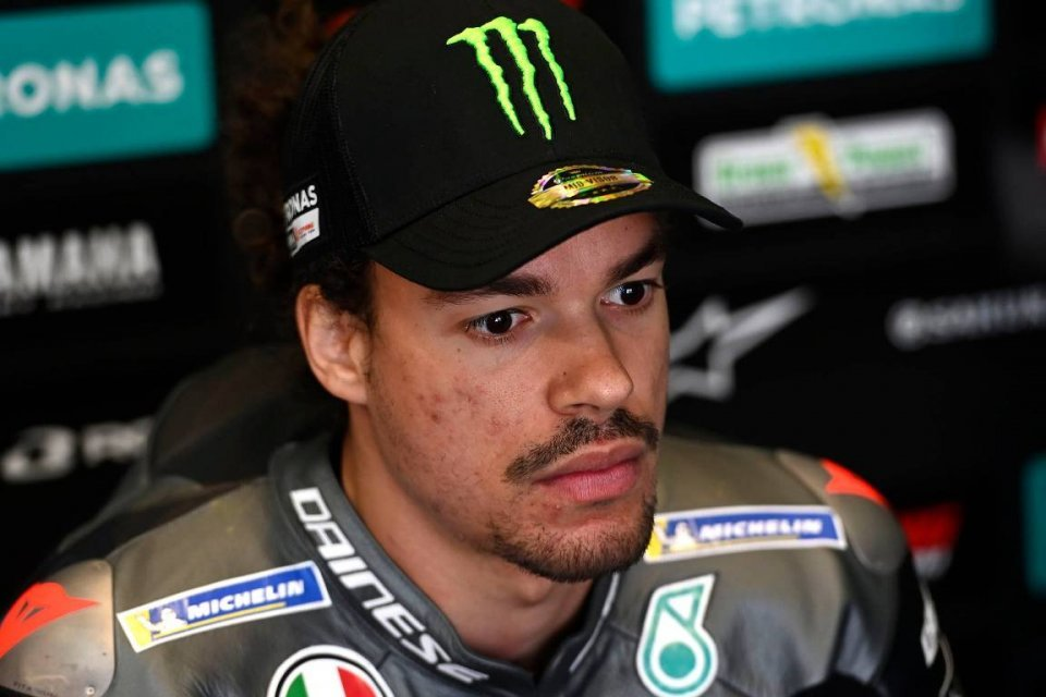 """MotoGP: Morbidelli: """"With this Yamaha, I can't fight for the World Championship"""""""