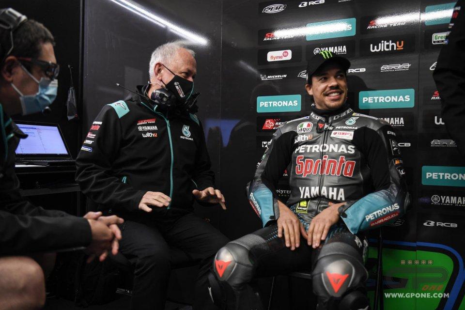 """MotoGP: Morbidelli: """"Il ginocchio? Mi sono fatto male al Ranch in allenamento"""""""