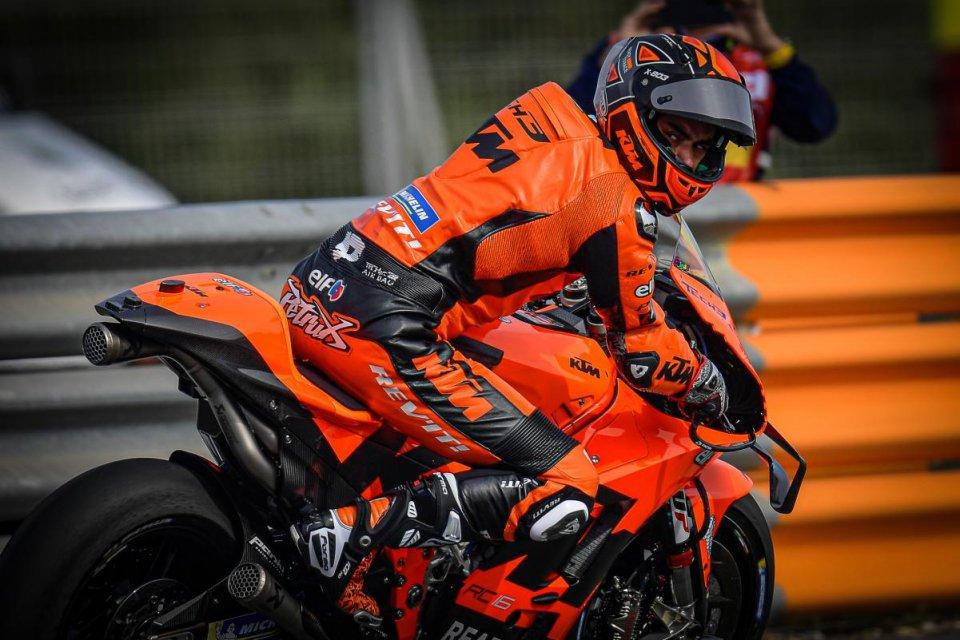 """MotoGP: Petrucci: """"Devo fare ciò che dice la mia KTM, non quello che dico io"""""""