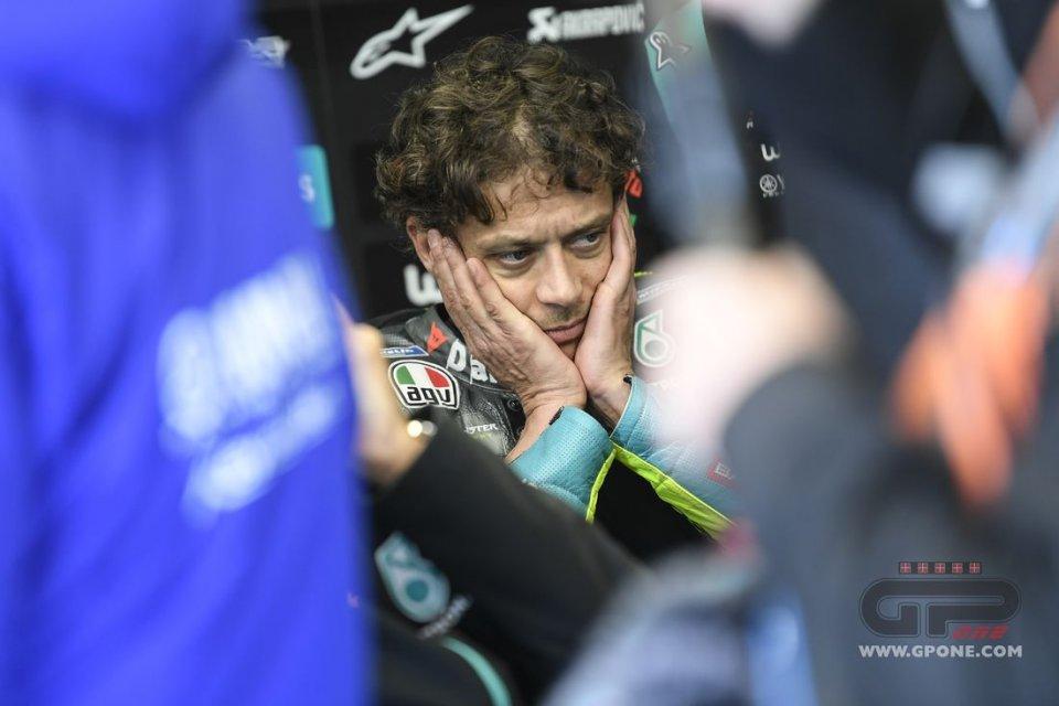 """MotoGP: Rossi: """"Un peccato, le condizioni miste sono le peggiori per me"""""""
