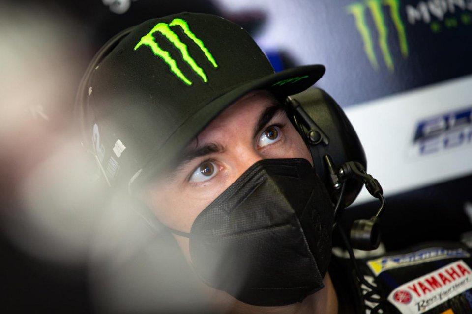 """MotoGP: Vinales: """"Le slick sul bagnato uno spavento, Quartararo coraggioso"""""""