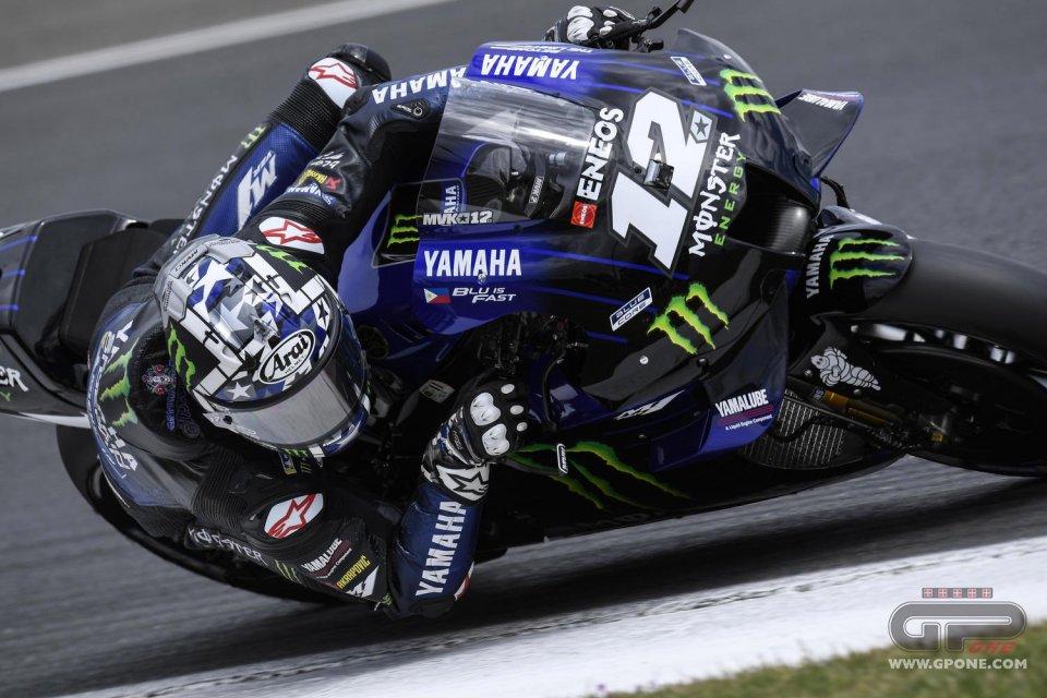 MotoGP: Vinales si prende la FP1 al Mugello: Zarco 2°, Marquez e Rossi 16° e 17°