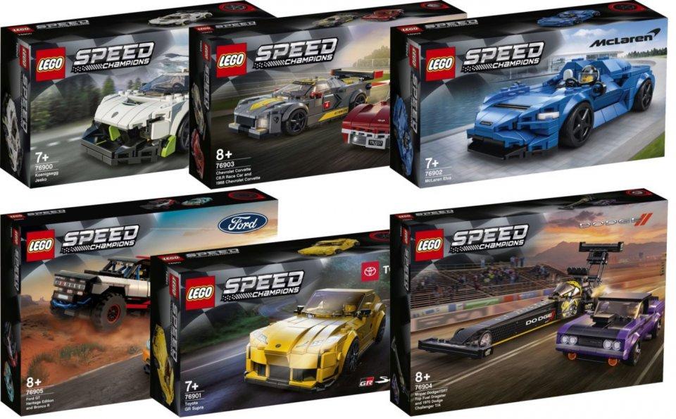 Playtime - Games: Lego Speed Champions: 6 nuovi set per gli appassionati di auto