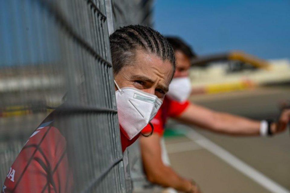 SBK: Aragon: l'infortunio al torace frena Alvaro Bautista