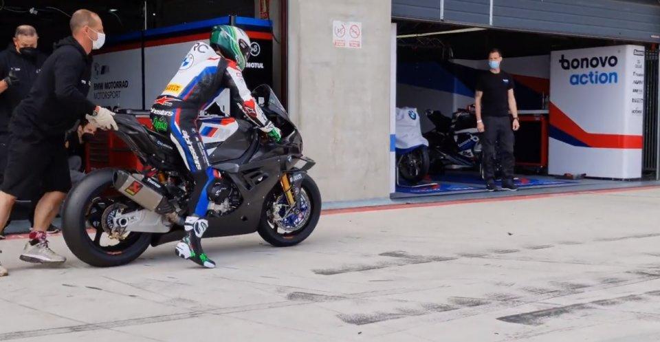 SBK: Laverty-RC Squadra Corse: un debutto total black con la BMW ad Aragon