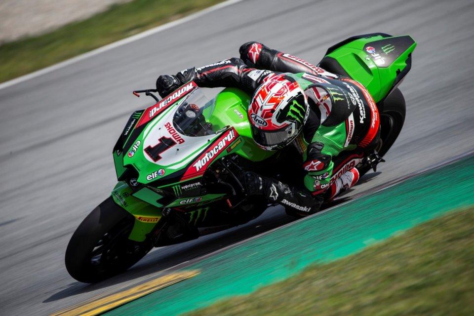 SBK: Aragon: Rea e la Kawasaki piegano Pedrosa con la MotoGP