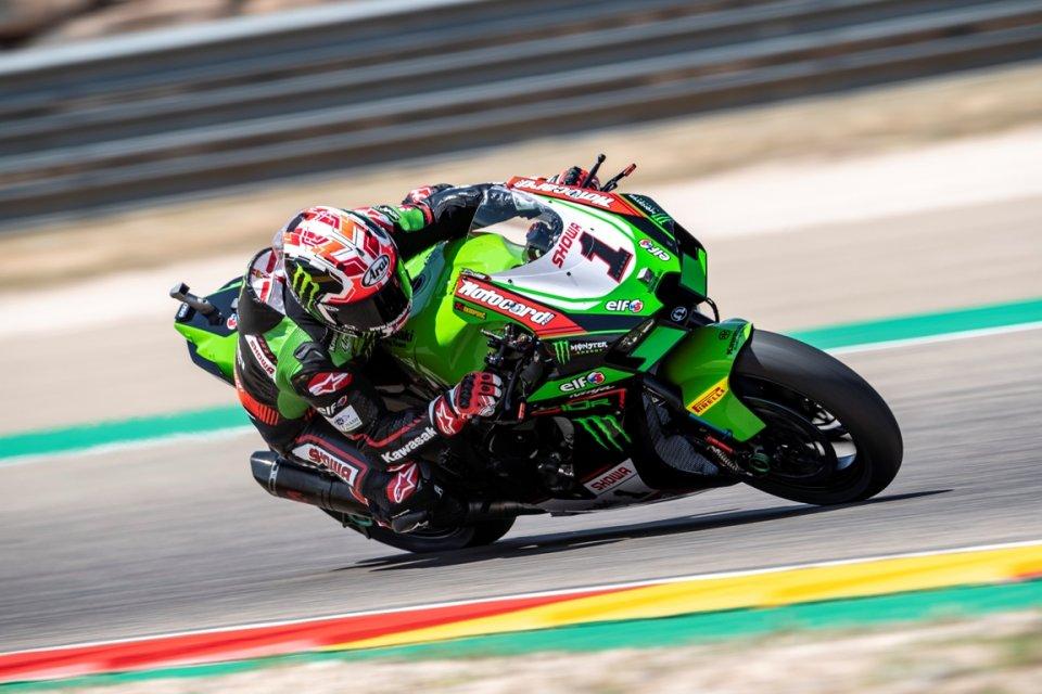 SBK: Rea domina Gara 1 ad Aragon e raggiunge quota 100! 4° Redding