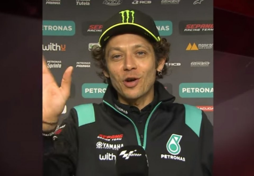 SBK: Rea fa 100 e Valentino Rossi gli manda un messaggio speciale