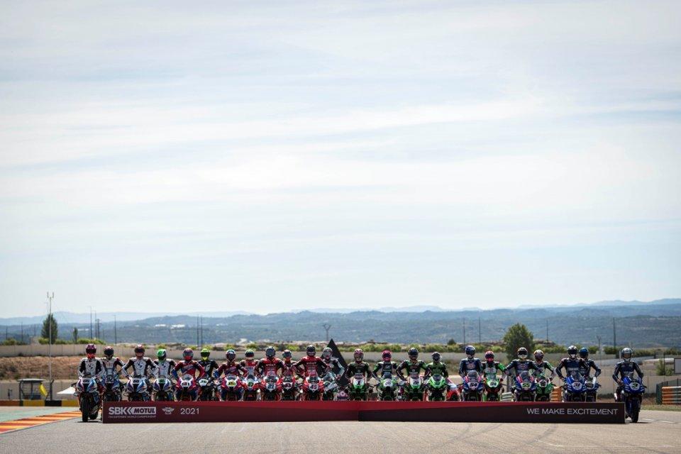SBK: Superbike: la carica dei 23 sulla griglia di Aragon