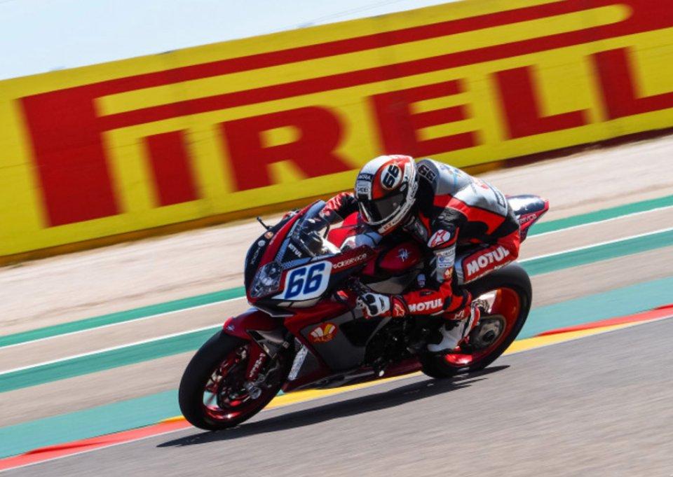 SBK: SSP: FP1 ad Aragon sotto il segno di Niki Tulli e della MV Agusta