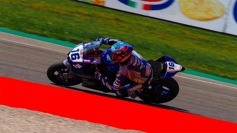 SBK: Cluzel conquista la pole Supersport 600 ad Aragon: 6° Caricasulo