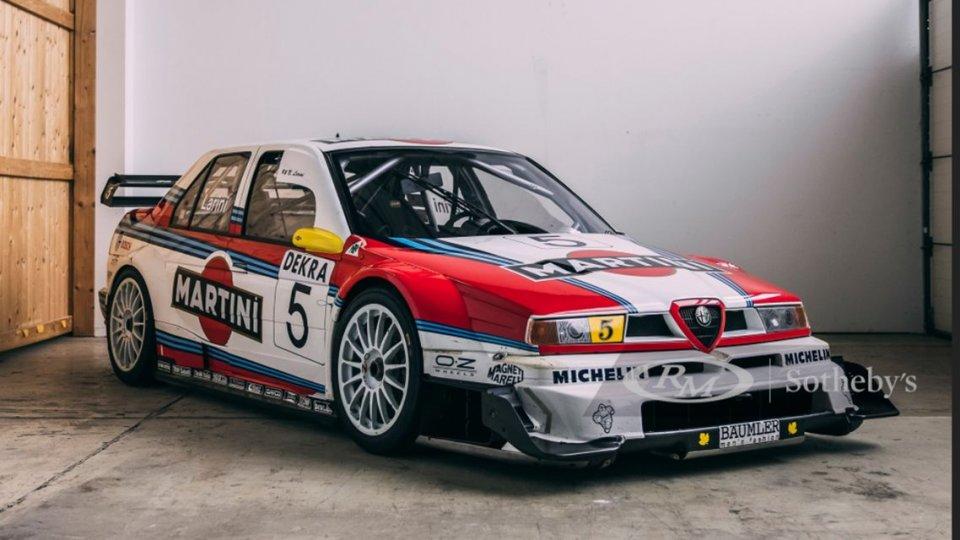 Auto - News: All'asta l'Alfa Romeo 155 V6 TI ITC di Nicola Larini