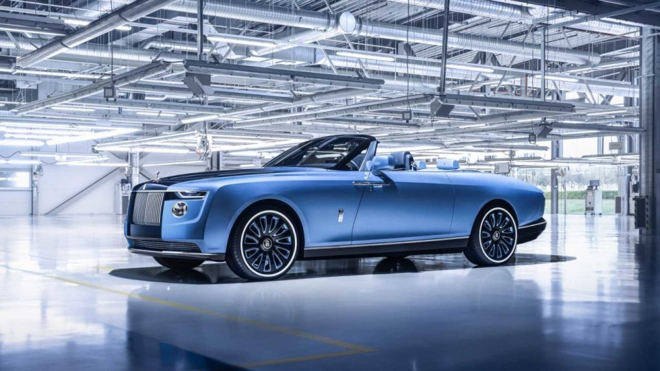 Auto - Test: Rolls-Royce Boat Tail: 28 milioni di dollari e sto!