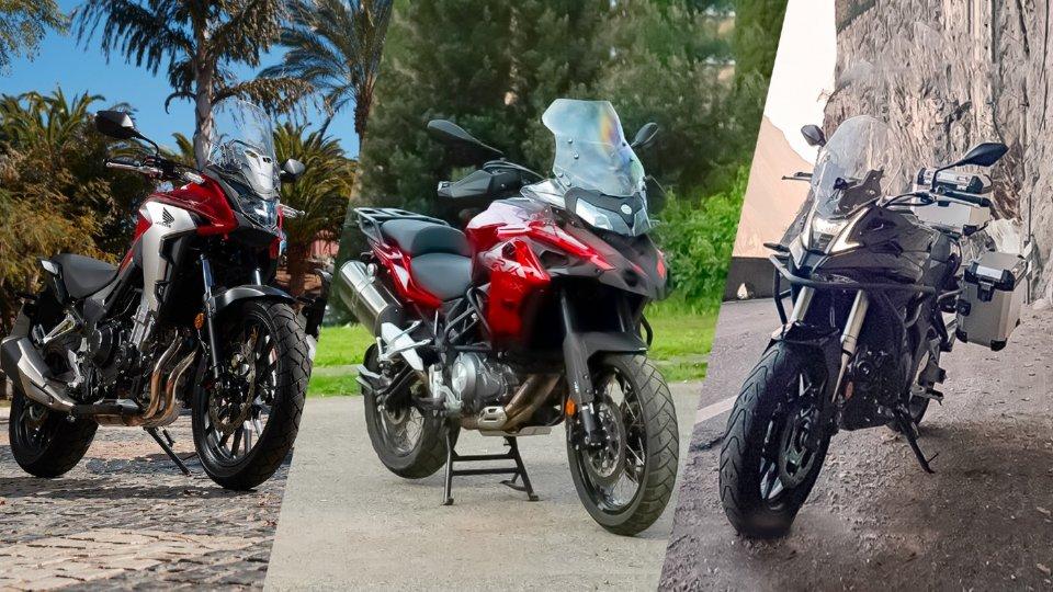 Moto - News: Sfida crossover 500: Honda CB500X vs Benelli TRK 502X vs Voge Valico 500DS