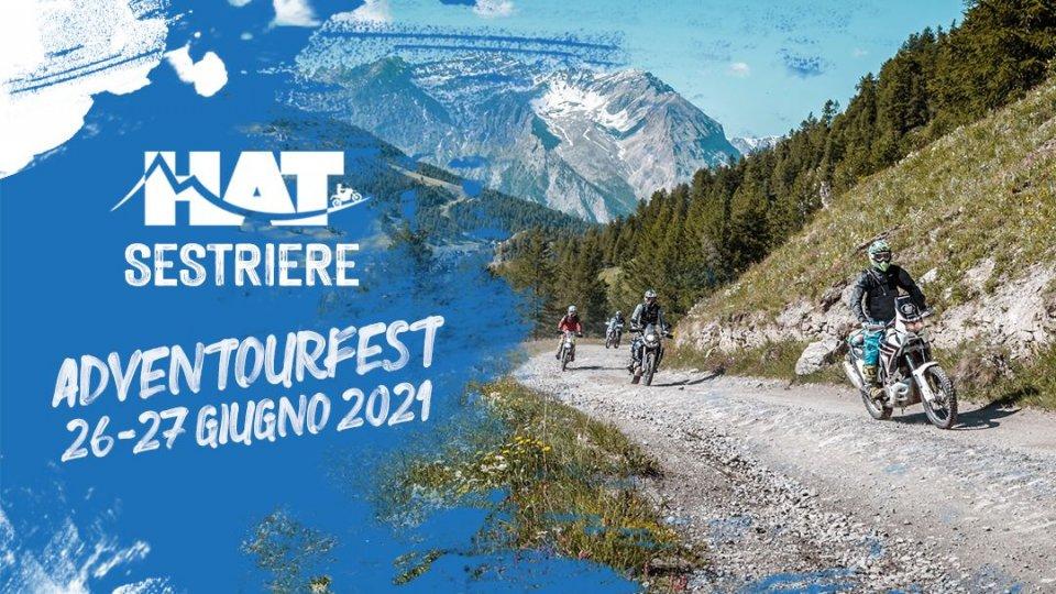 Moto - News: Hat Sestriere Adventourfest 2021: la grande festa della moto avventura
