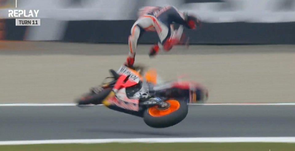 Moto - News: Marquez insegna: come funziona e quando serve il controllo di trazione