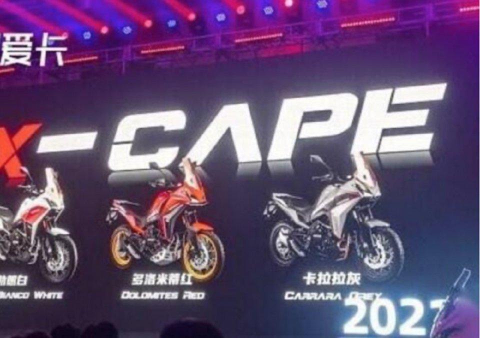 Moto - News: Moto Morini X-Cape 650: eccola qui, ma per ora solo per la Cina.