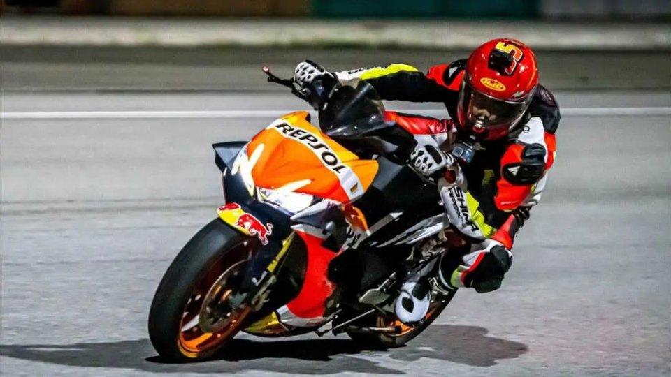 Moto - Scooter: Dalla Malesia lo scooter che crede di essere una Honda RC213V