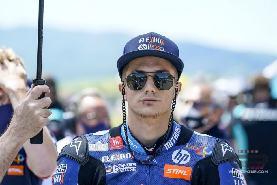 Moto2: Assen: Arriva la sorpresa di Garzó sotto la pioggia nelle FP2, 3° Bulega