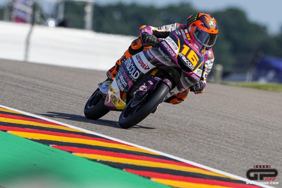 Moto3: Equilibrio in Moto3, Migno il migliore nelle FP3 al Sachsenring
