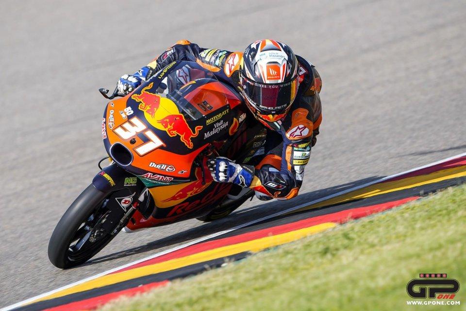 Moto3: Acosta perfetto, gara ad eliminazione al Sachsenring. Foggia sul podio