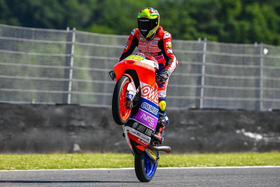 Moto3: Nepa sorprende nella FP3 di Barcellona, Acosta in Q1!