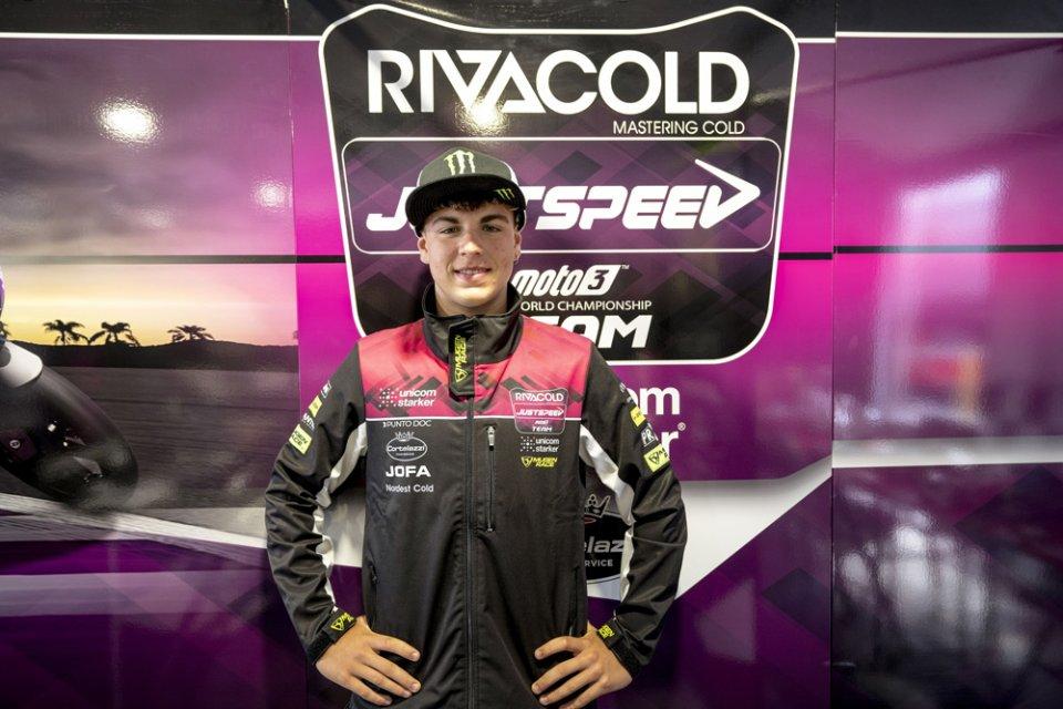 Moto3: Salac e il team Snipers si lasciano, al suo posto Alberto Surra