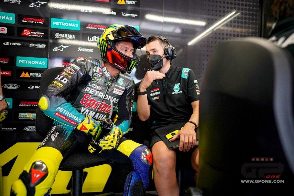 """MotoGP: Rossi: """"IN FP2 abbiamo preso una strada sbagliata, torneremo indietro"""""""