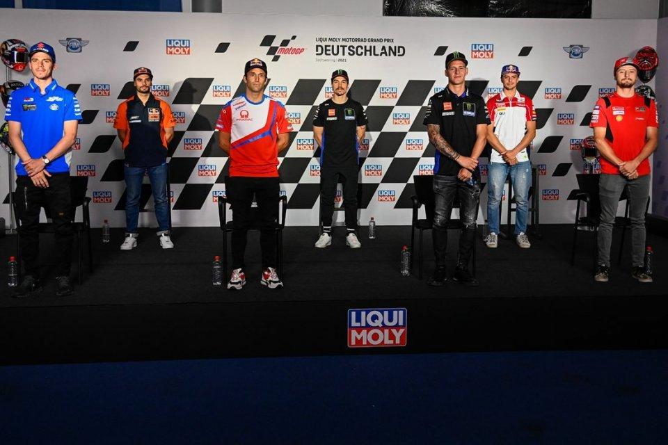 """MotoGP: Quartararo e Zarco: """"Marquez al Sachsenring sarà da podio"""""""