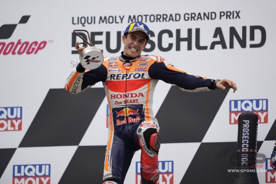 """MotoGP: Marquez: """"I followed my instinct and won, but I'm not the old Marc, yet."""""""
