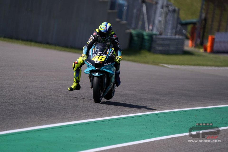 """MotoGP: Rossi: """"The Sachsenring favors Yamaha? It was never like that."""""""