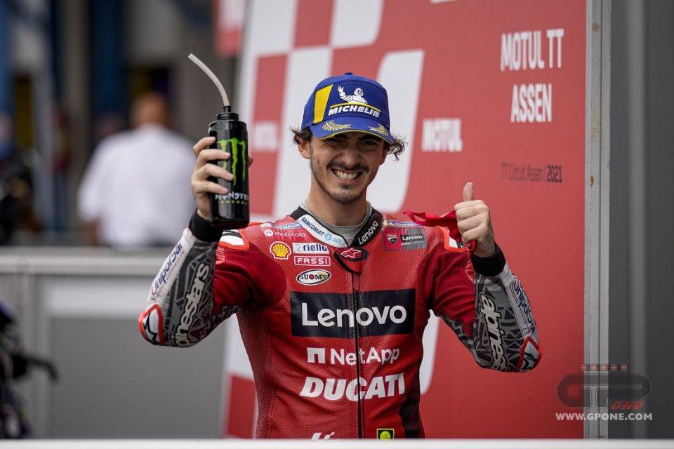 """MotoGP: Bagnaia: """"Proverò a fermare la Yamaha ma sono mezzo secondo più veloci"""""""