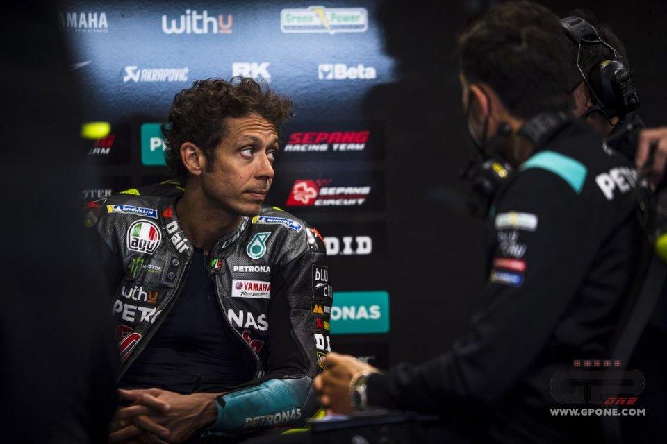 """MotoGP: Rossi: """"Sono ottimista ma non per giocarmi ciò che vorrei, il podio"""""""