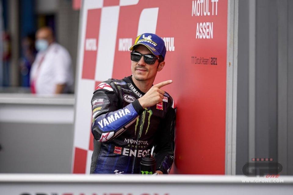 """MotoGP: Vinales: """"Puoi anche essere dio, ma senza grip con la M1 sei lento"""""""