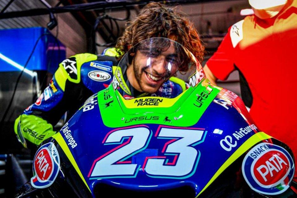"""MotoGP: Bastianini: """"Vorrei essere il miglior rookie davanti a Martin e Marini"""""""
