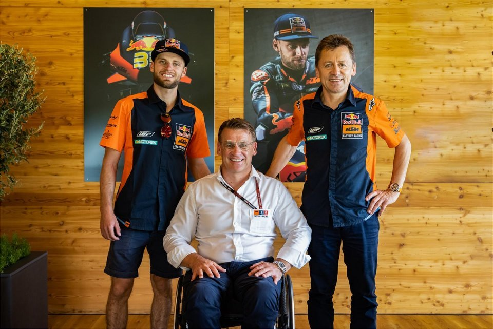 MotoGP: Brad Binder renews with KTM: he will be in the Factory team until 2024