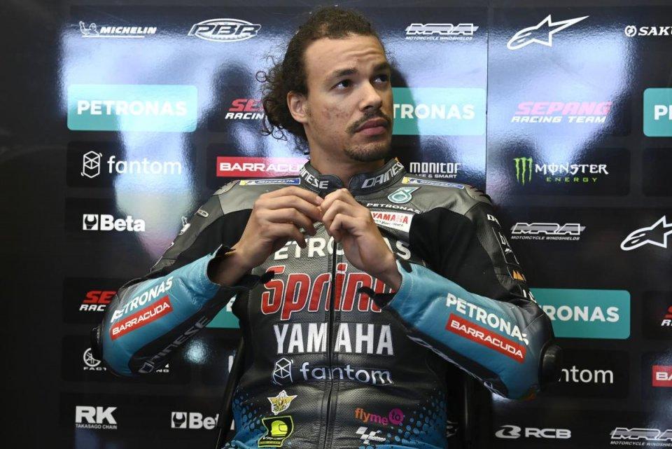 """MotoGP: Morbidelli: """"In Moto3 ci sono dei pazzi furiosi. Io non ho velocità"""""""