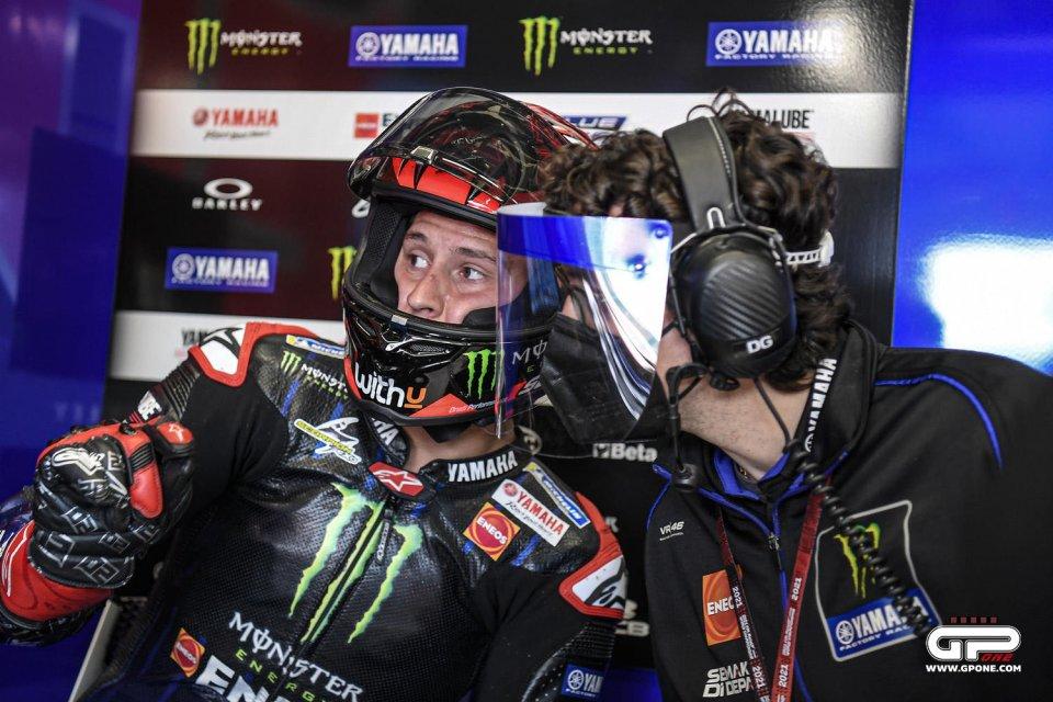 """MotoGP: Gubellini, capotecnico di Quartararo: """"Nel 2021 ha un approccio diverso"""""""