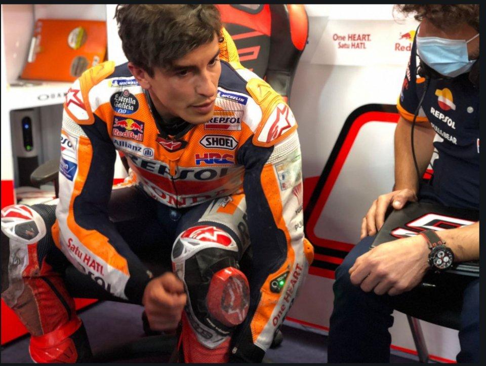 """MotoGP: Marquez's violent high-side: """"we have a traction control problem"""""""